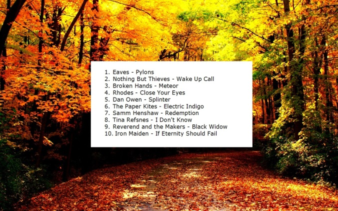 playlist sept-oct 2015