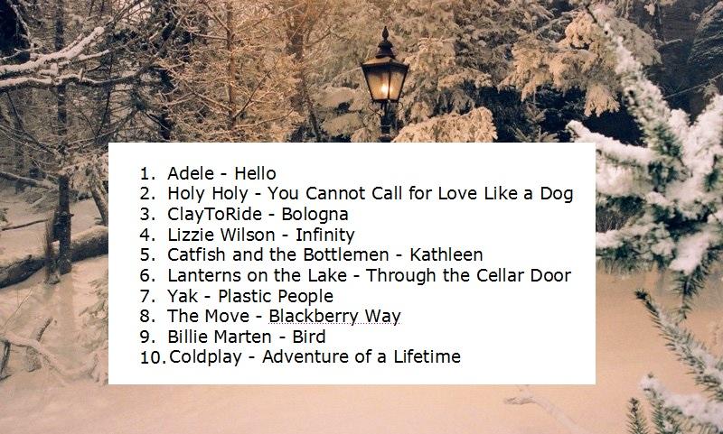 nov-dec playlist