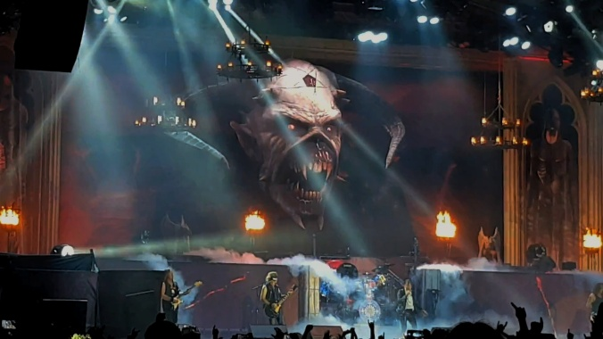 Bridgestone Near Me >> Live Review: Iron Maiden, Genting Arena Birmingham, 7th ...